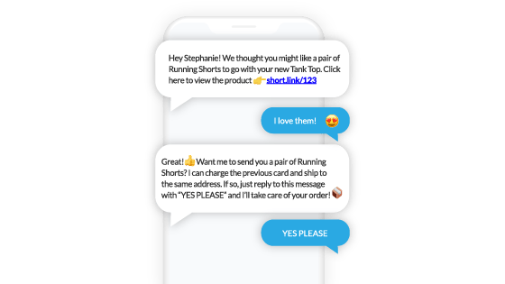 Voxie conversational SMS text message marketing
