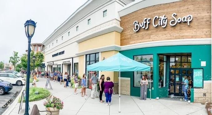 buff city soap retail franchise opening